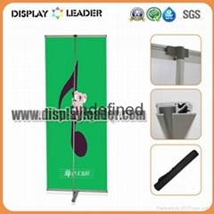 High Quality ALuminum Advertising L Banner Display Stand