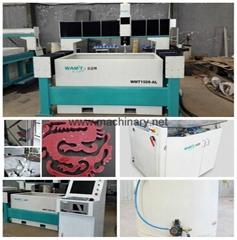 1300*1300mm bridge type waterjet cutting machine with 420Mpa pump