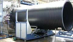 大口徑中空壁纏繞管生產線