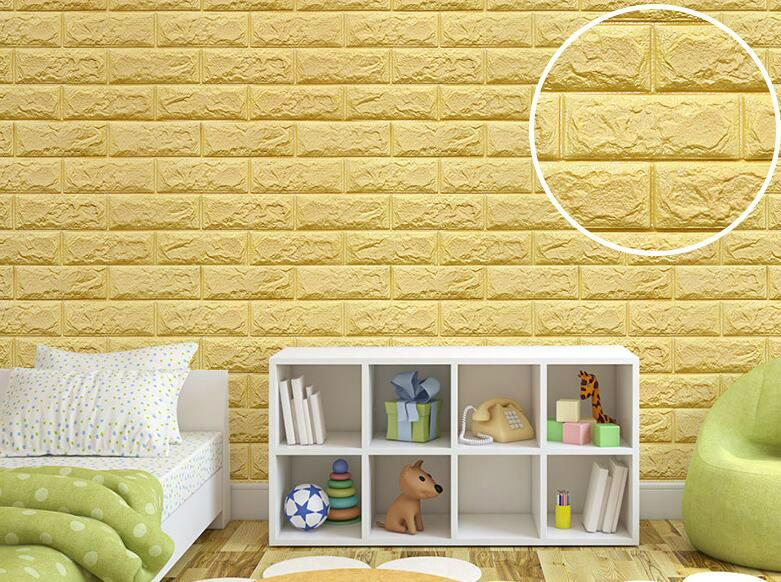 new XPE faux brick wall panels 3D korean style decoration wall ...