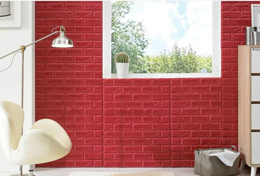 new xpe faux brick wall panels 3d korean style decoration wall panels 5