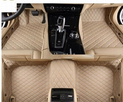 XPE leather car floor mats 5D for PORSCHE/PEUGEOT /Buick/Fiat /SUZUKI /Mazda