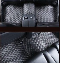 5D Leather XPE Car Floor Mats for  Honda /Mercedes Benz/Bayerische Motoren Werke