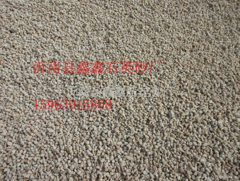 沂南縣噴砂除鏽石英砂 1