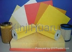 Auto air filter paper