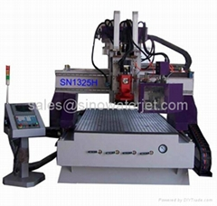 Wood engraving cutting machine cnc center with auto tool change