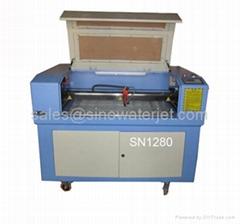 SINO laser engraving cutting machine SN1280 in China