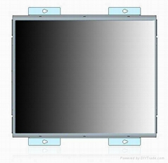15 Inch open frame touch screen monitor for industry