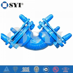 ductile iron mechanical joint fittings
