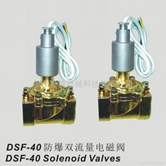 DSF-40防爆雙流量電磁閥