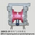 QBK-25 PP diaphragm pump