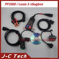 PP2000 lexia 3 citroen peugeot diagnostic tool lexia-3 diagbox with 30pin cable