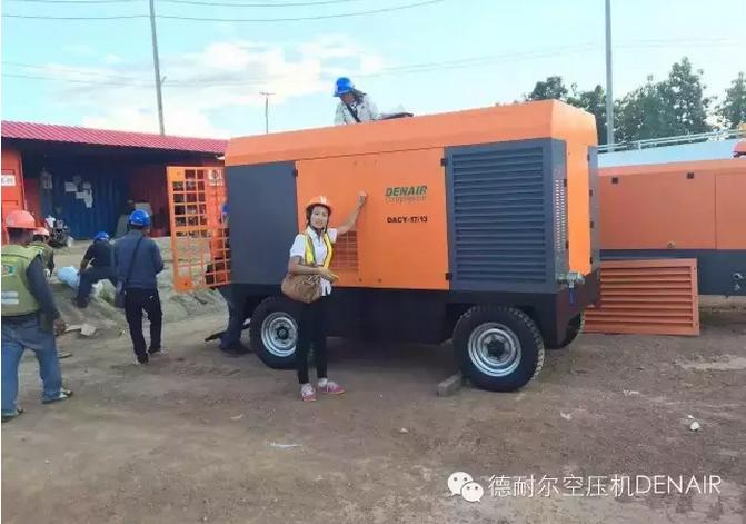 德耐尔柴油移动空压机DACY-9.0/7 3