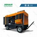 德耐尔柴油移动式空压机DACY