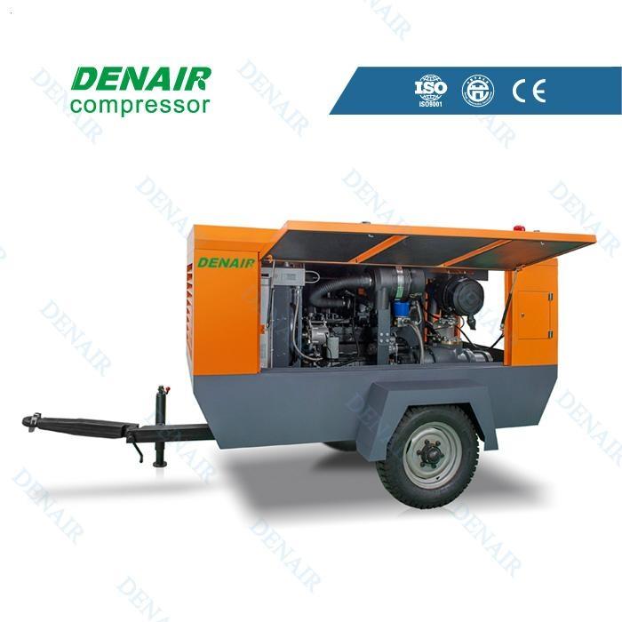德耐尔柴油移动空压机DACY-5.0/8 1