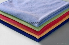 Weft knitting cloth