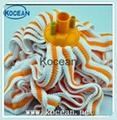 Multicolor Microfiber Yarn Mop With