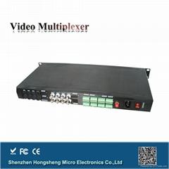 8路监控系统视频光端机
