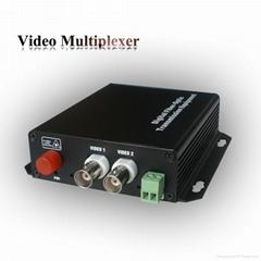 2路监控系统光端机