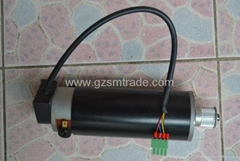 Piezoelectric pictorial machine servo motor