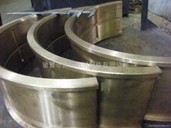 厂家定做500毫米铜轴瓦