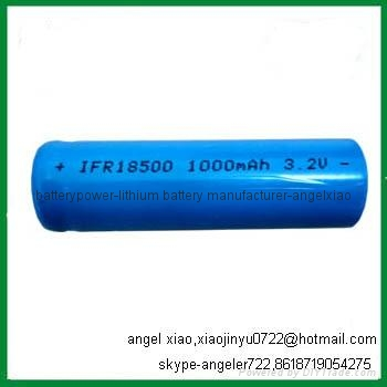 6V 1.5AH lifepo4 battery solar lamp battery 5
