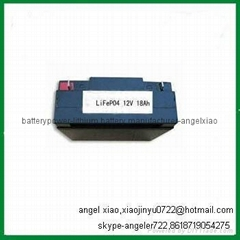 golf trolley battery 12v 18ah lifepo4 battery