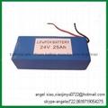 Lithium battery 24v 25ah lifepo4 for ups