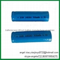 li ion battery 3.7v 2200mah 18650 cell