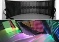 Newest Arrival Soft Led Display Flexible LED Curtain Display (Zeus-18) Pitch18mm 2