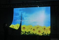 Flexible LED Screen with Magnetic p6mm