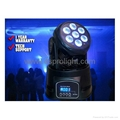 7*12W RGBW 4in1 LED Moving Heads