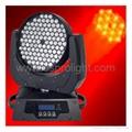 108p*3W rgbw LED moving head wash light