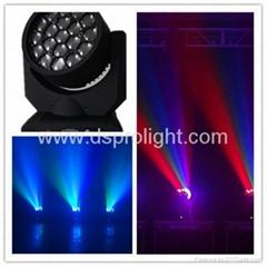19pcs 12W LED Moving Head similar to Sharpy B-EYE for disco club light