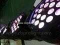 18pcs 15W RGBWA  Dmx Stage Zoom LED Par Light f 2
