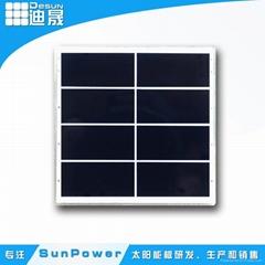 Desunpv solar light supply sunpower efficiency PET laminated small panel