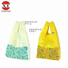 Polyester Embroidery Shopping Bag