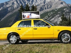 NYC Taxi Top Advertising P5 LED Display