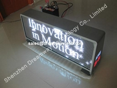 Los Angeles LED Taxi Top Advertising Display