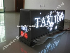 Russia Taxi Advertising LED Display Wireless Control