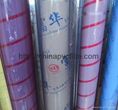 pvc transparent soft film