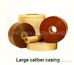 US 22mm Halal Artificial food grade cellulose sausage casing manufacturer 2