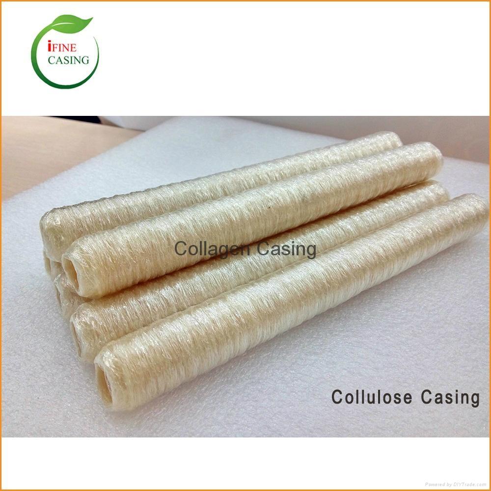 US 22mm Halal Artificial food grade cellulose sausage casing manufacturer 1