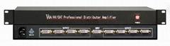 1分8DVI音视频分配器
