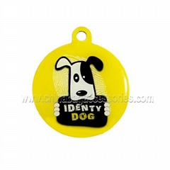 Fashion high quality qr id pet tags for sale
