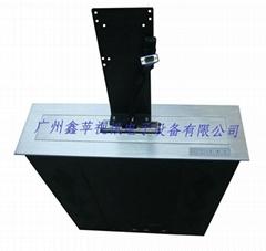 新款铝合金拉丝面板液晶屏升降器