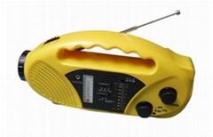 太陽能收音機帶手機充電
