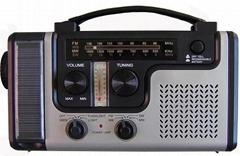 Solar dynamo radio with flashlight and