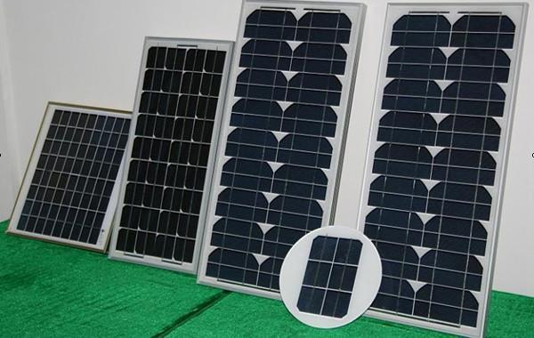 單晶硅太陽能電池組件5W-60W