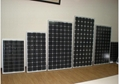 單晶硅太陽能電池組件80W-100W 3